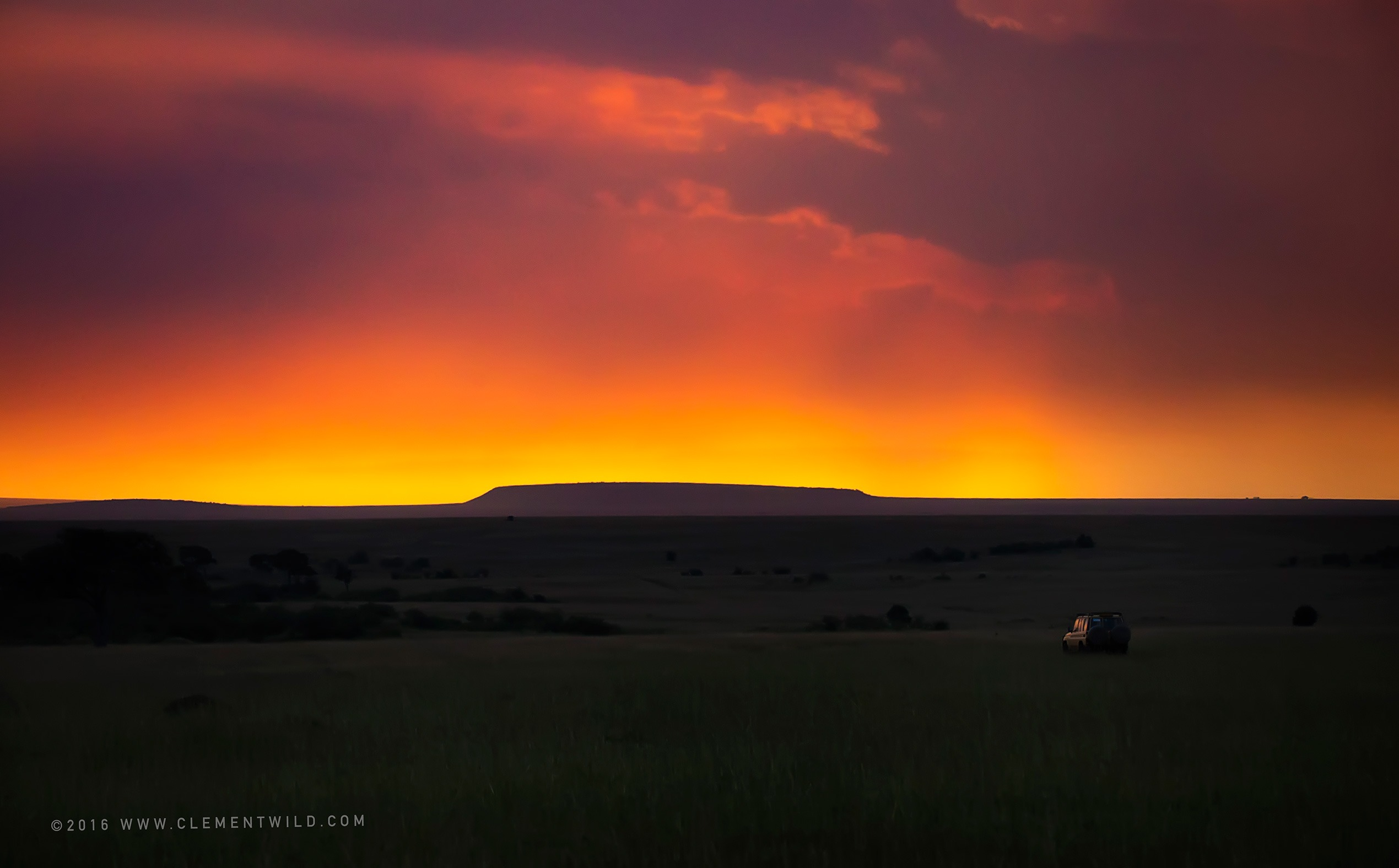 Beautiful Landscape, Wildlife Photography, Photographic Safaris, Clement Wild, Masai Mara, Sunset, Golden Light